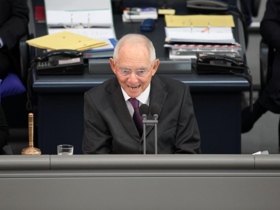 Schäuble beliebtester Spitzenpolitiker - Schulz abgestürzt