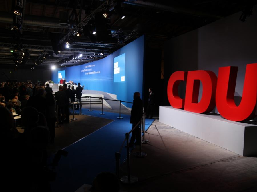 CDU-Parteitag fasst voraussichtlich Abgrenzungsbeschluss
