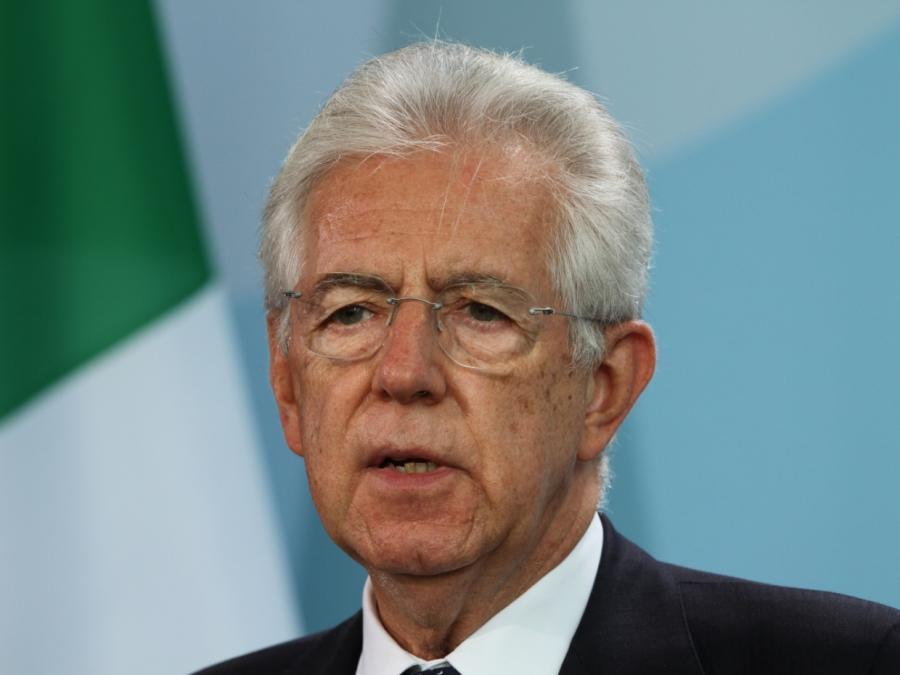 Mario Monti empfiehlt große Koalition für Italien