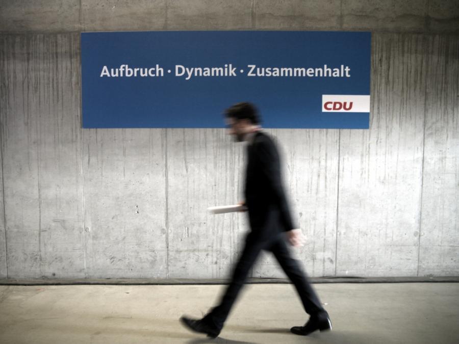 Union der Mitte gegen Urwahl von CDU-Kanzlerkandidaten