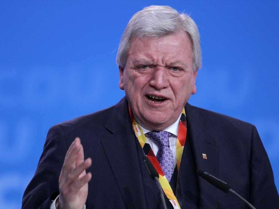 Bouffier als hessischer Ministerpräsident wiedergewählt