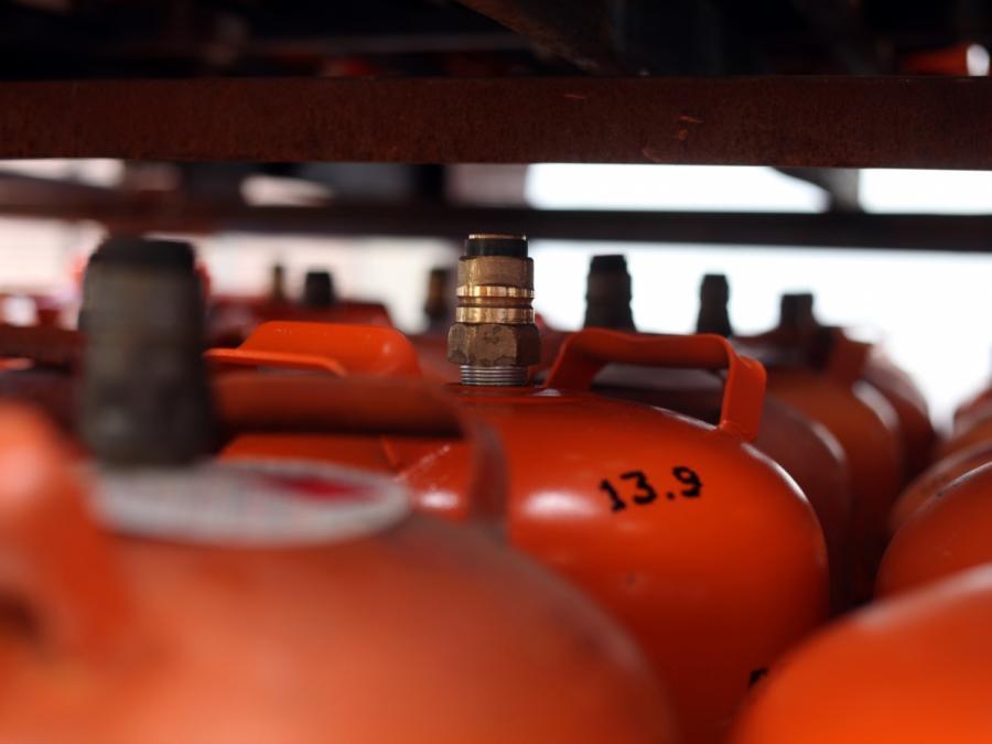Deutsche Erdgasspeicher leeren sich schneller als sonst