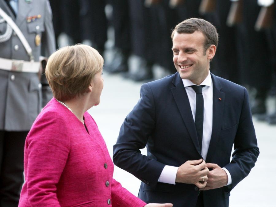Merkel und Macron vertagen gemeinsamen Plan für Eurozone
