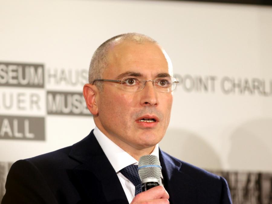 Chodorkowski hat Verständnis für Schröder