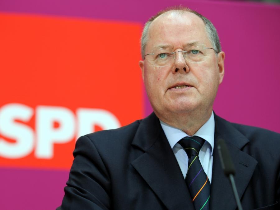Steinbrück: SPD-Erneuerung noch nicht mal richtig angelaufen