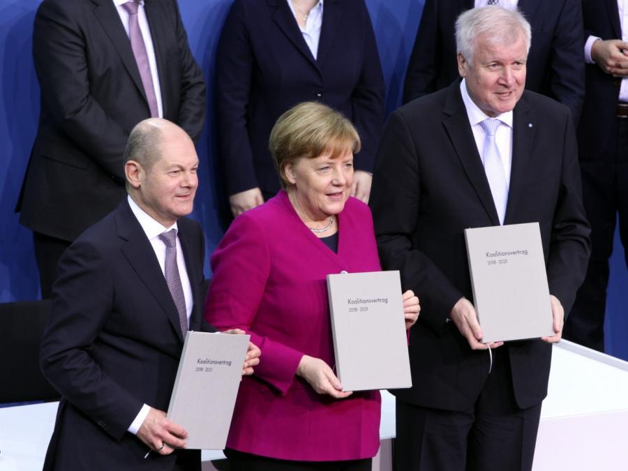 Infratest: Union und SPD legen zu