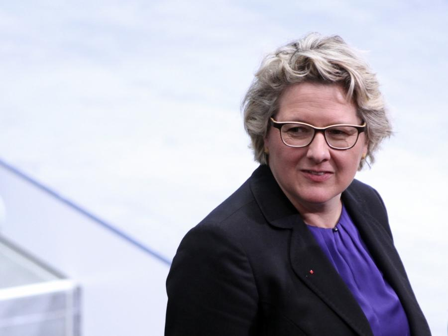 Umweltministerin Schulze ermahnt Union beim Klimaschutz