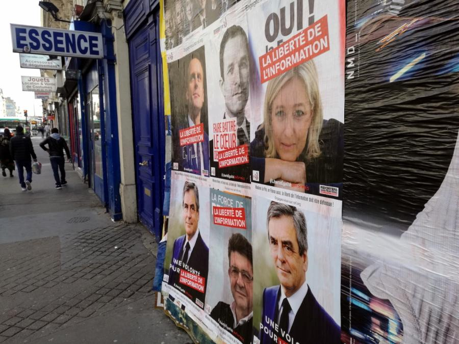 Kipping und Gysi rufen Franzosen zur Wahl Macrons auf