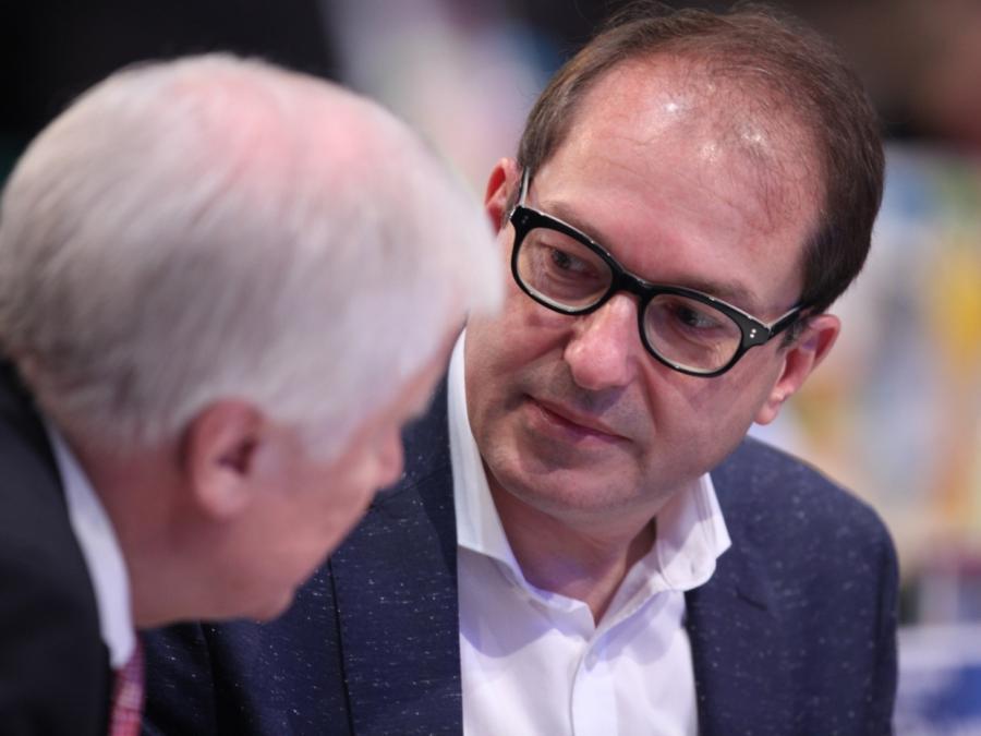 Dobrindt unterstützt Seehofer-Äußerungen zum Islam
