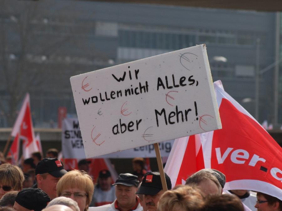 Linken-Chef unterstützt Warnstreiks im öffentlichen Dienst