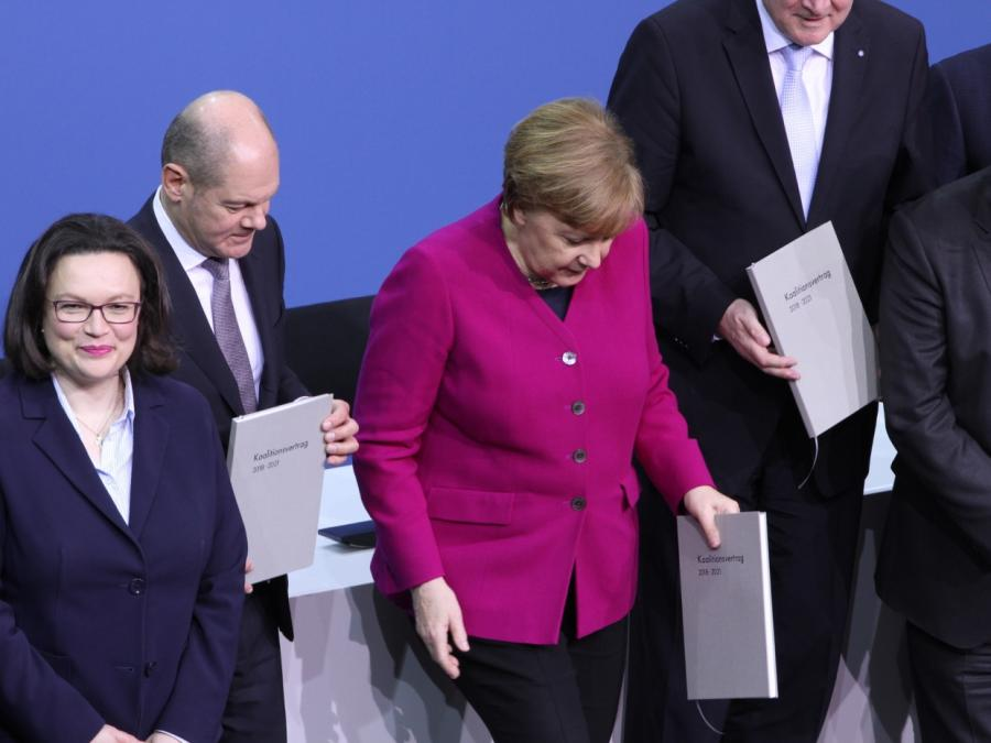 Nahles schließt Koalitionsbruch wegen Maaßen aus