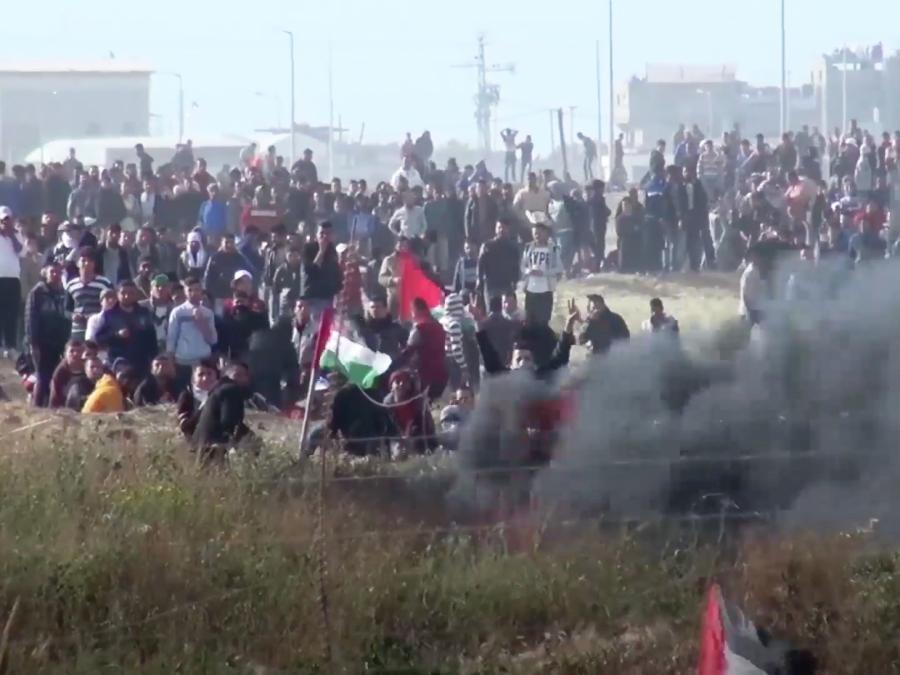 Wieder Verletzte bei Zusammenstößen im Gazastreifen