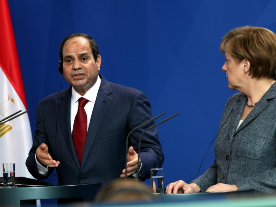 Merkel gratuliert al-Sisi zur Wiederwahl