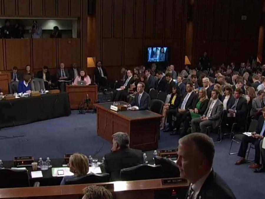 US-Börsen legen zu - Facebook-Aktie geht bei Anhörung nach oben