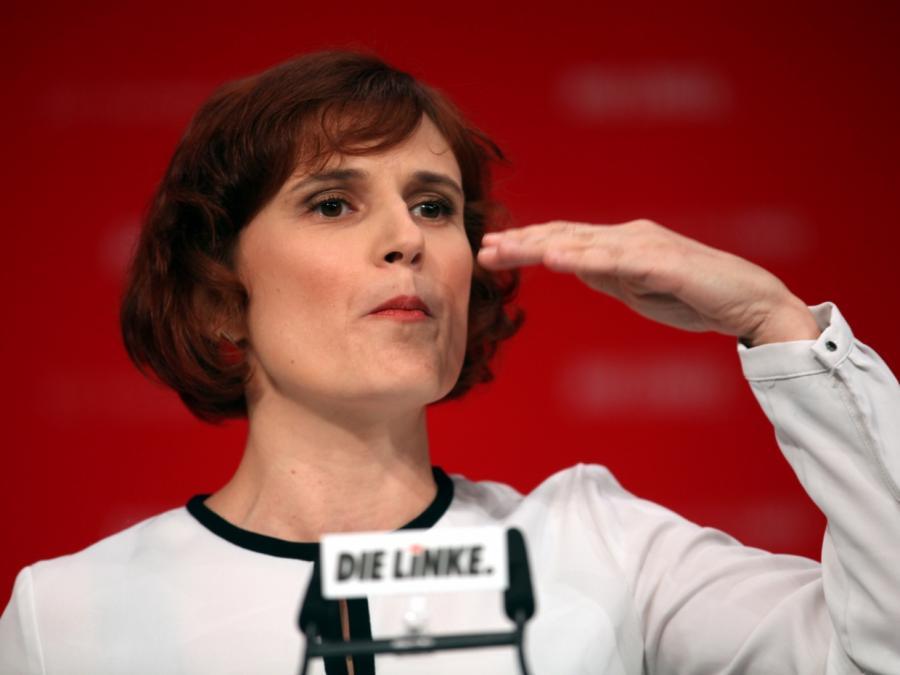 Linken-Chefin fordert von Merkel Veto gegen US-Einsatz in Syrien