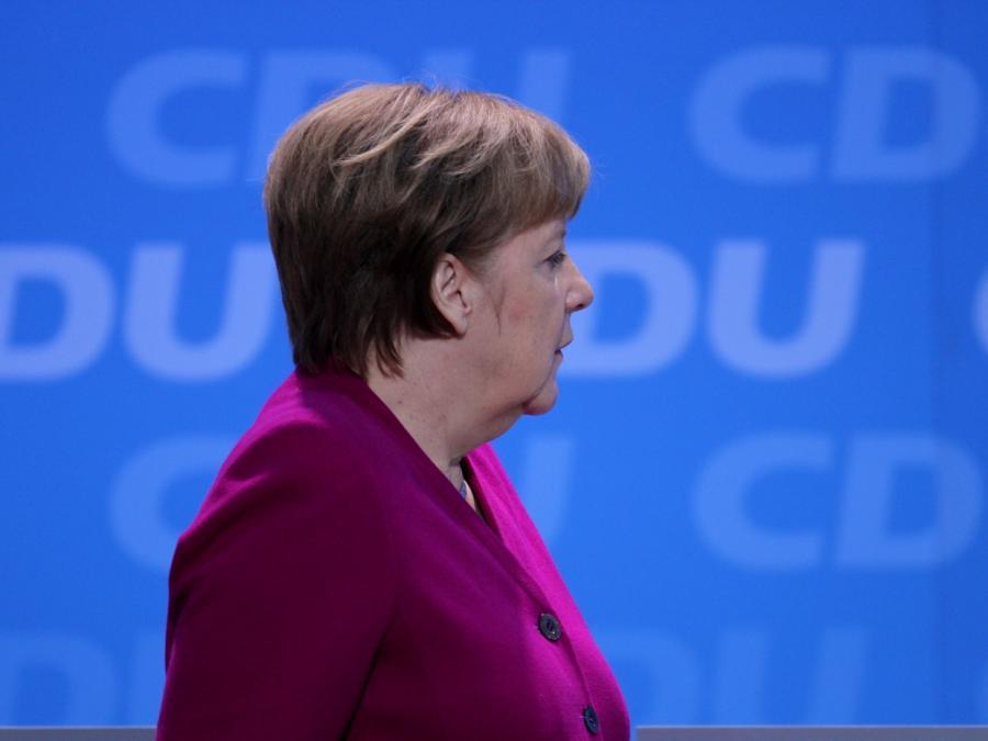 Berichte: Merkel will nicht mehr für CDU-Vorsitz kandidieren
