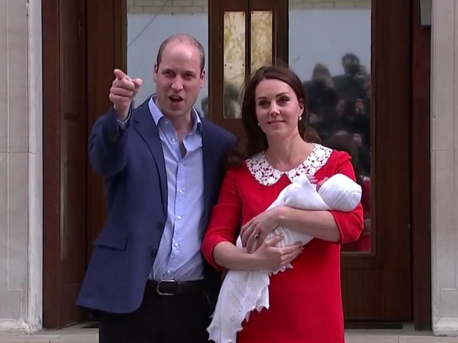 Drittes Kind von William und Kate heißt Louis Arthur Charles