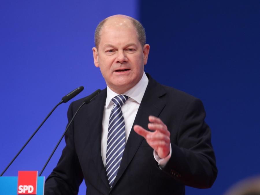 Scholz verteidigt SPD-Vorsitzkandidatur