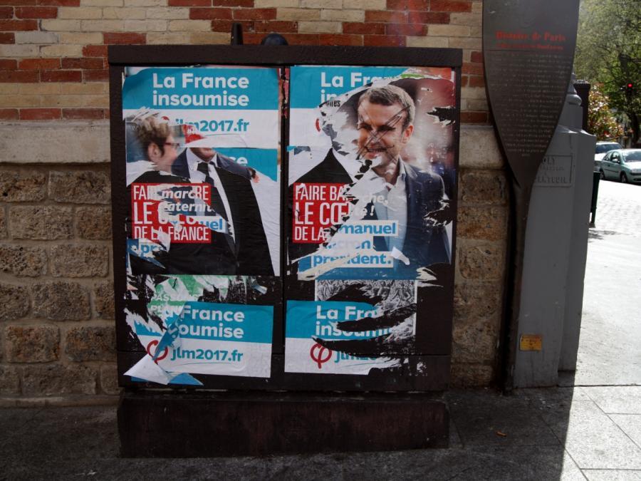 Führende deutsche Politiker vor Frankreich-Wahl besorgt