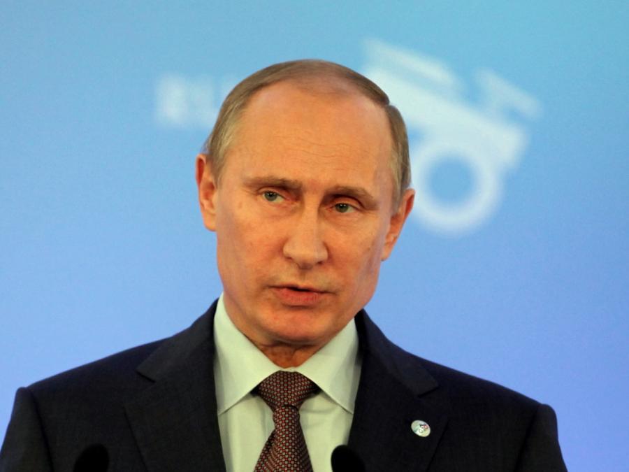 Russlands Präsident Putin legt Amtseid ab