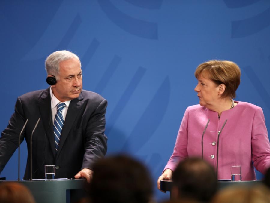 Merkel spricht mit Netanjahu über Gewalt in Gaza