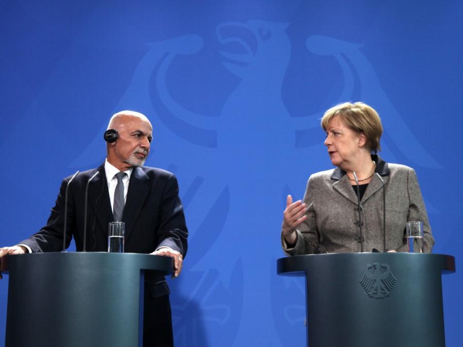 Merkel kondoliert Ghani nach Anschlag in Kabul