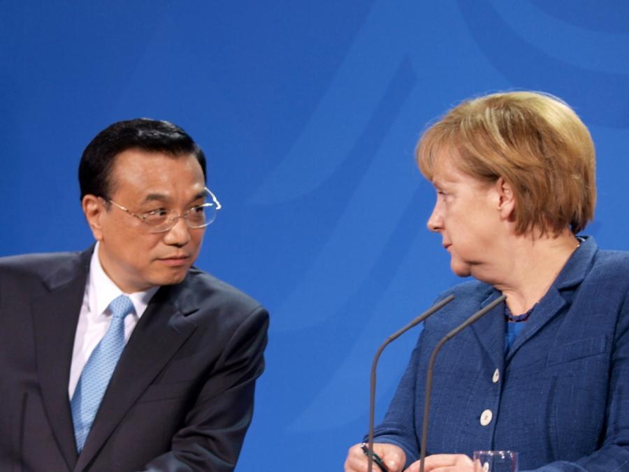 Merkel will China an WTO-Regeln erinnern
