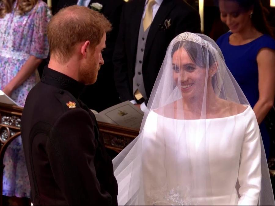 Prinz Harry und Meghan Markle geben sich Ja-Wort