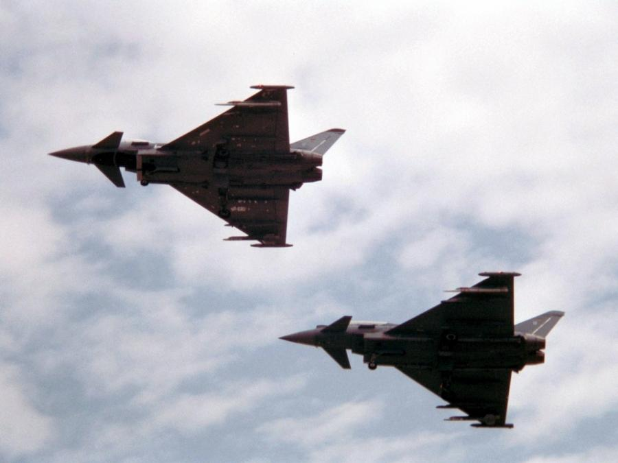 Bundeswehr: Eurofighter weiter nur bedingt einsatzbereit