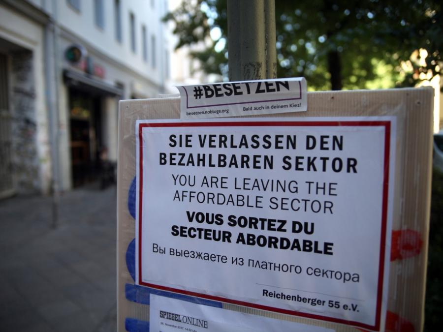 Mehrere Hausbesetzungen in Berlin