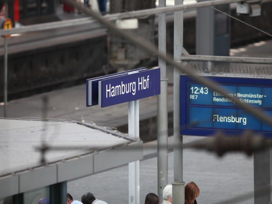 Explosions-Angst nach angebohrter Leitung: Hamburg Hbf evakuiert