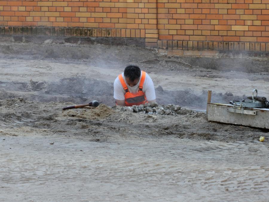 Bauhauptgewerbe verzeichnet mehr Aufträge