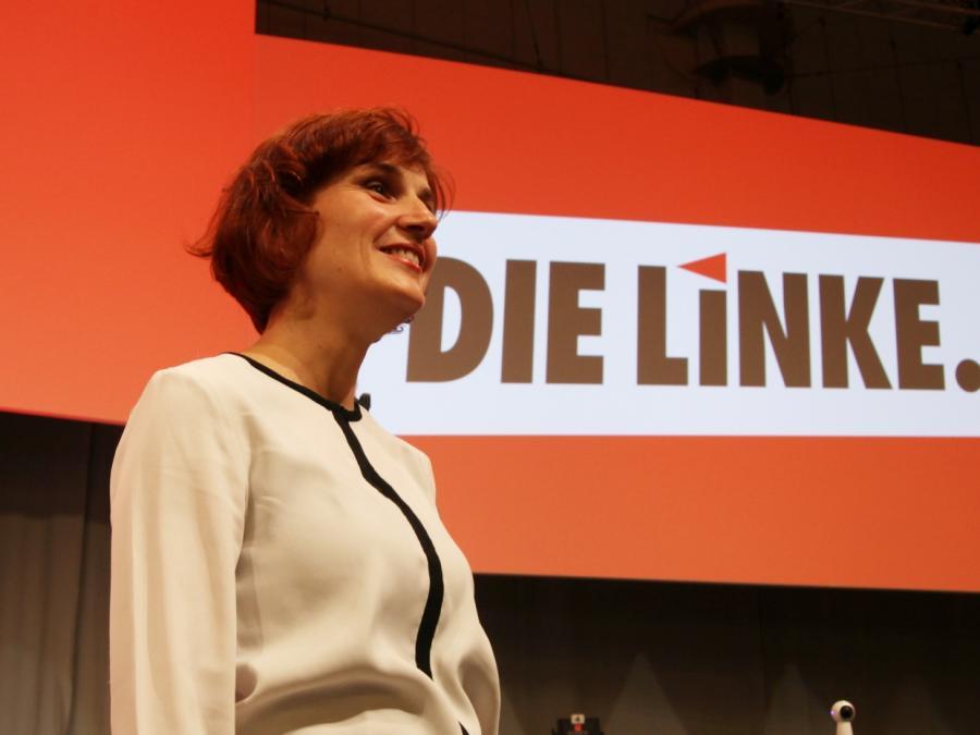 Linken-Chefin Kipping nach schlechtem Wahlergebnis nicht enttäuscht
