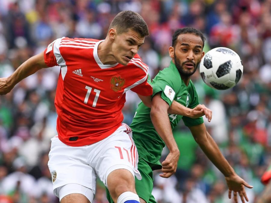 Russland gewinnt WM-Eröffnungsspiel gegen Saudi-Arabien