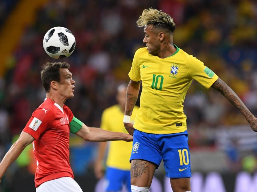 Fußball-WM: Brasilien und Schweiz unentschieden