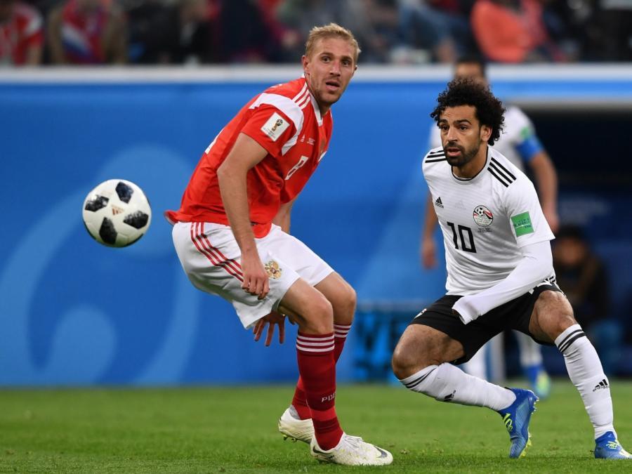 Fußball-WM: Russland nach Sieg gegen Ägypten im Achtelfinale