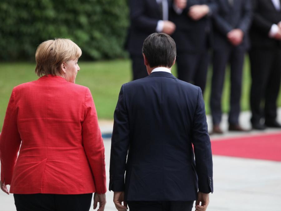 Nach Brückeneinsturz von Genua: Merkel schickt Telegramm an Conte
