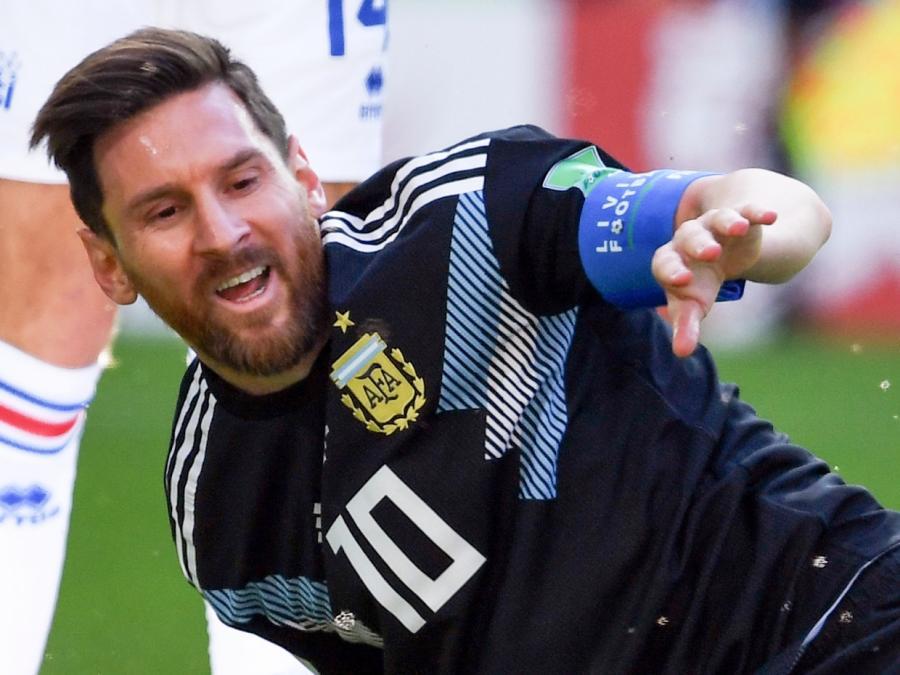 Fußball-WM: Argentinien verliert gegen Kroatien