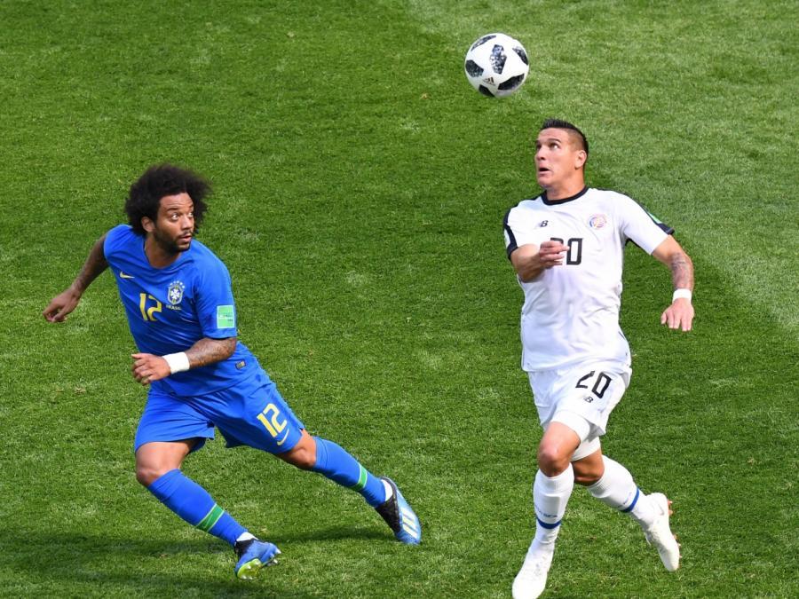 Fußball-WM: Brasilien gewinnt in letzter Minute gegen Costa Rica