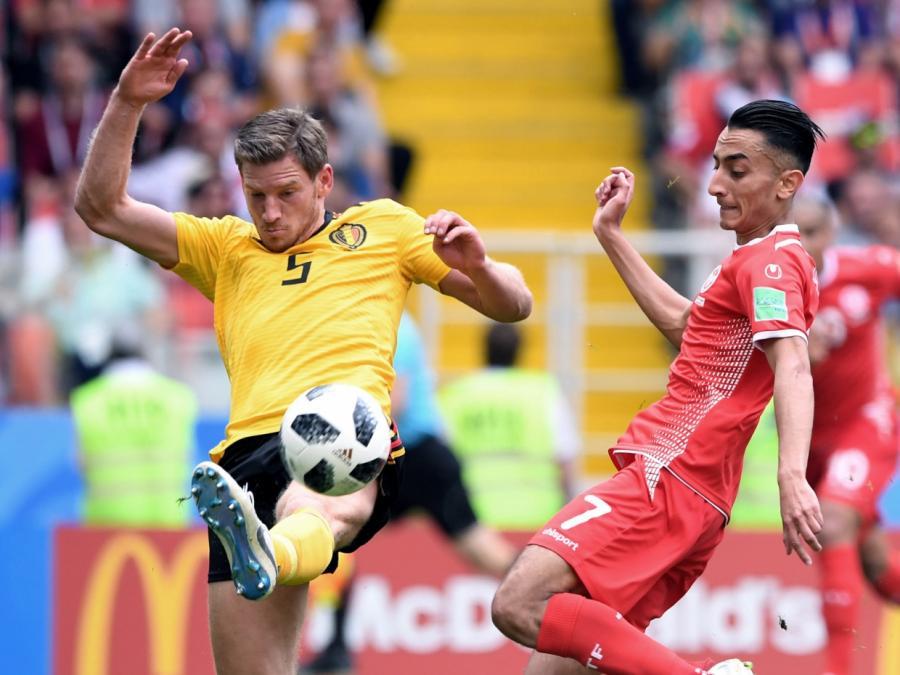 Fußball-WM: Belgien gewinnt deutlich gegen Tunesien