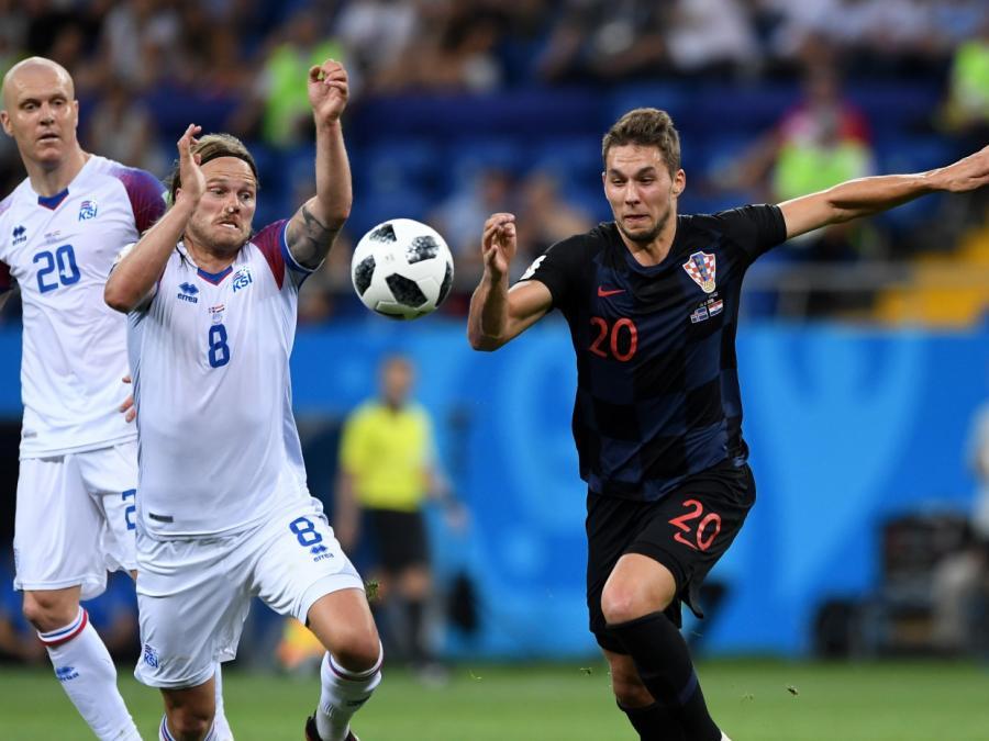 Kroatien und Argentinien weiter - WM-Aus für Island und Nigeria
