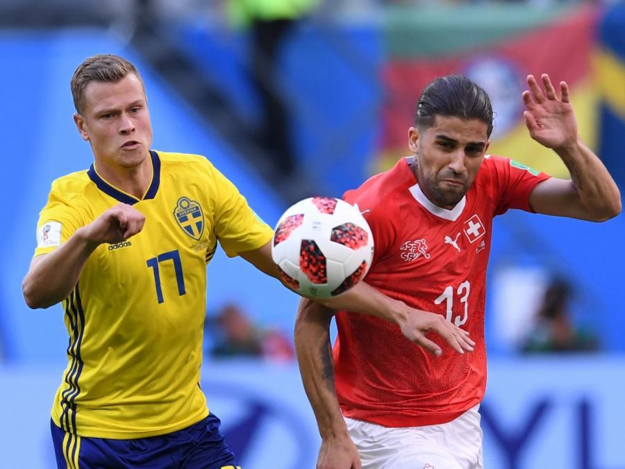 Schweden gewinnt WM-Achtelfinale gegen die Schweiz