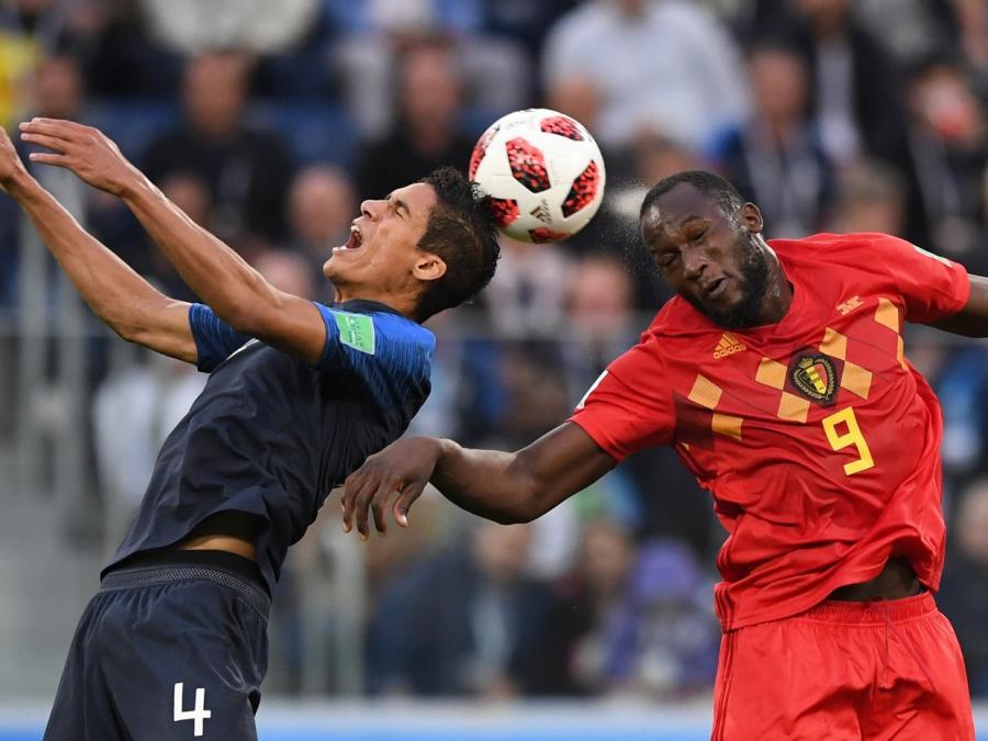 Frankreich gewinnt WM-Halbfinale gegen Belgien