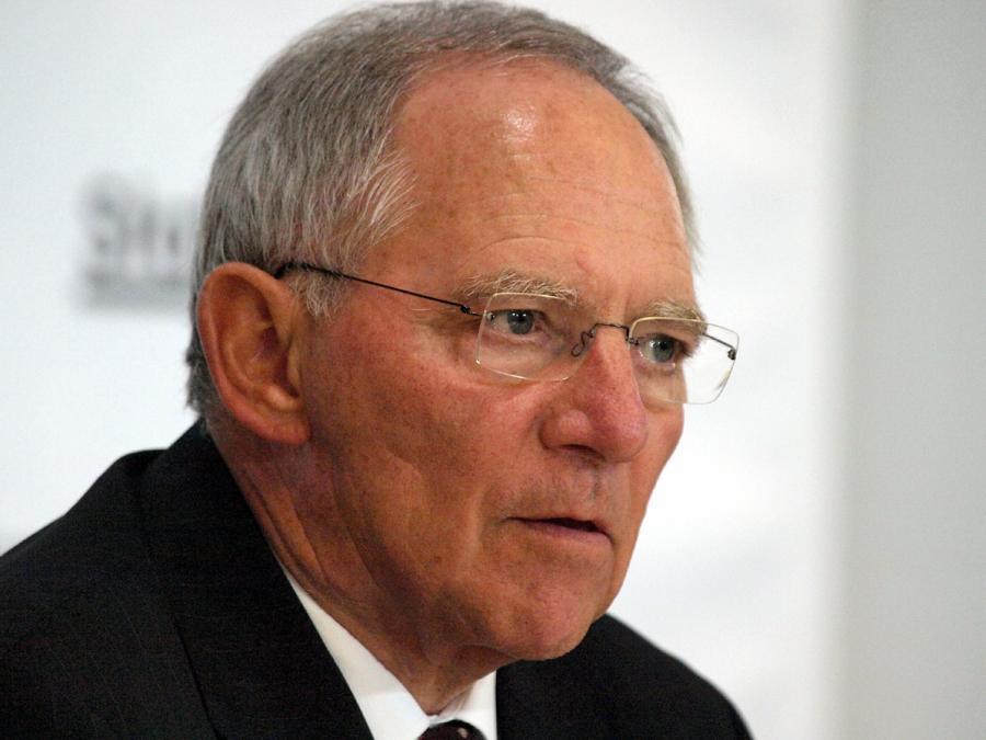 Schäuble: Wahlergebnis kein Zeichen für gescheiterten Einigungsprozess