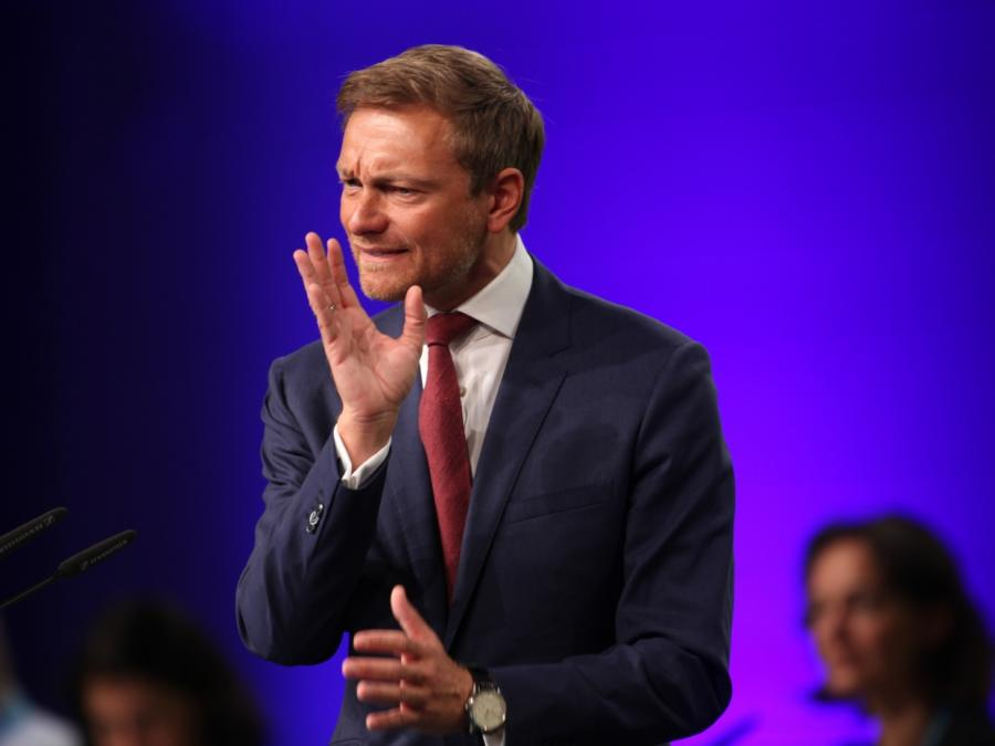 FDP-Chef Lindner kritisiert Verrohung der politischen Debatte
