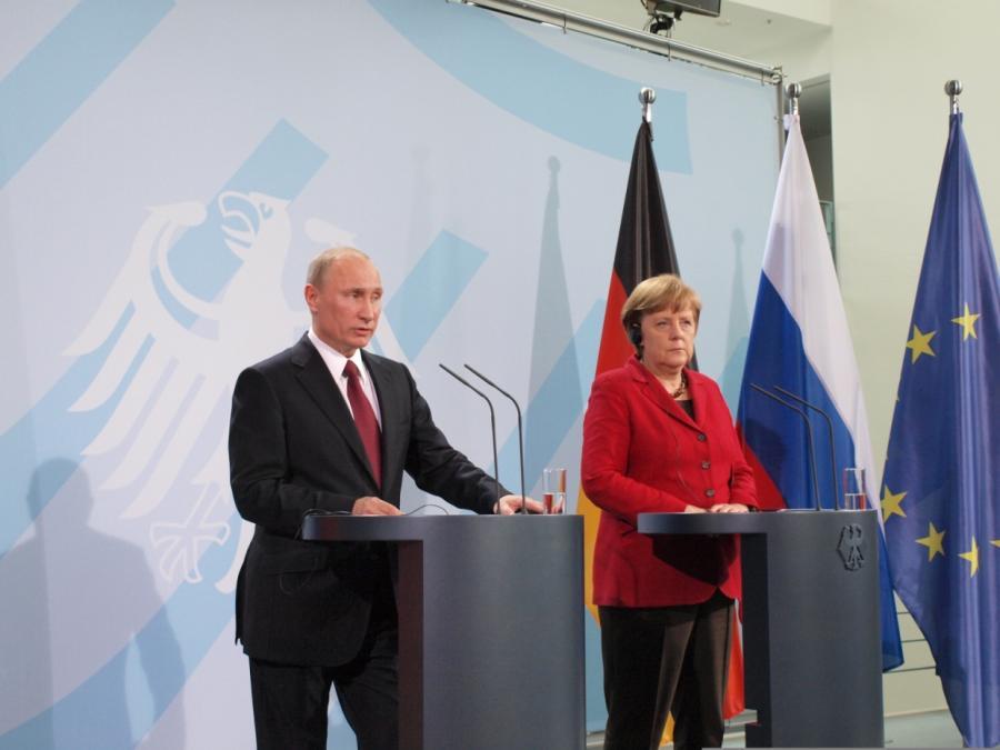 Merkel und Putin im Juli bei