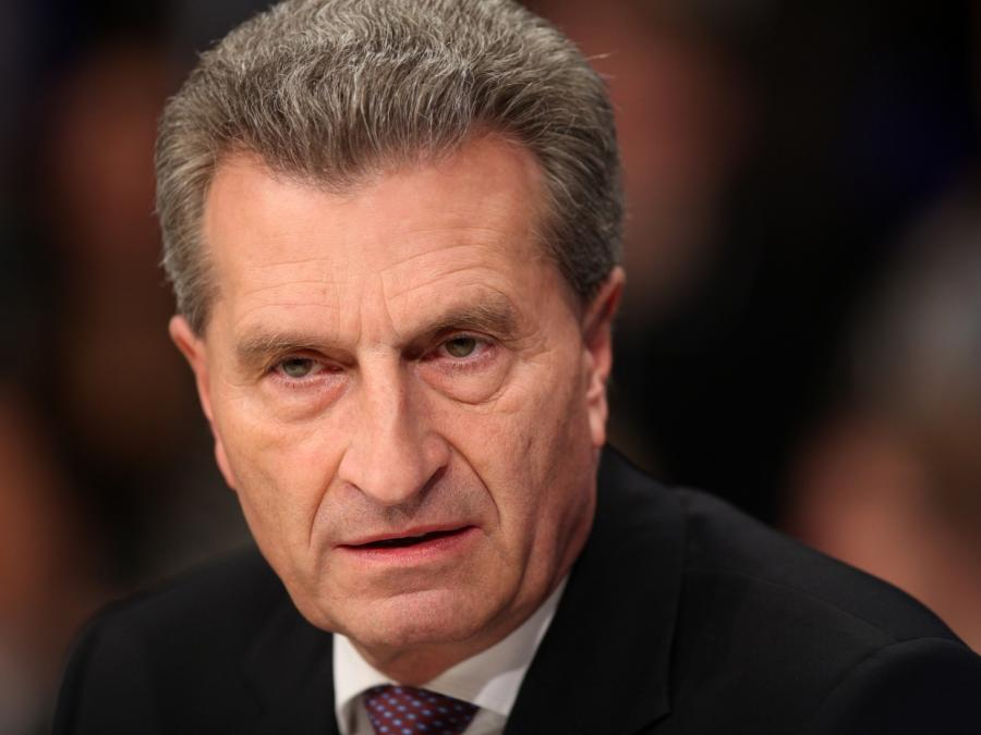 Oettinger warnt nach G7-Eklat vor Überreaktionen