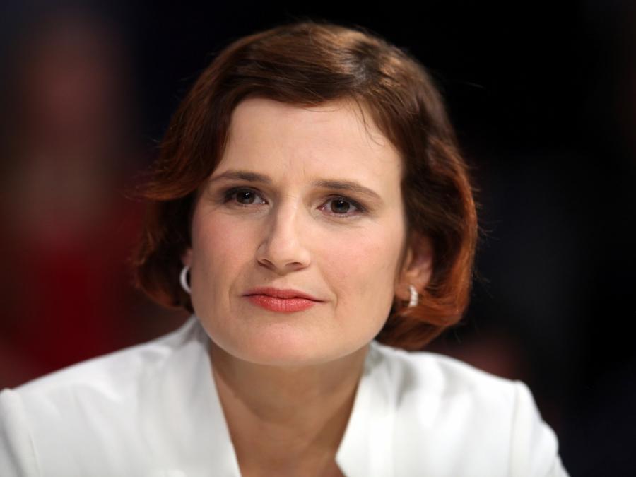 Linken-Chefin Kipping begrüßt die Wahl Macrons