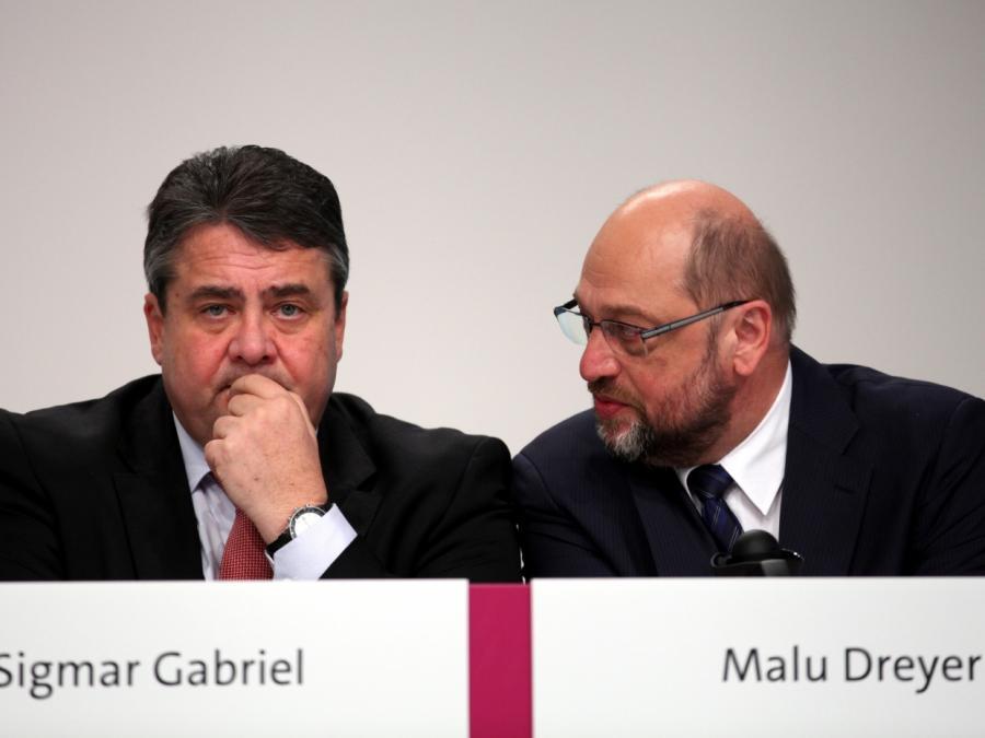 Schulz und Gabriel offiziell wieder versöhnt