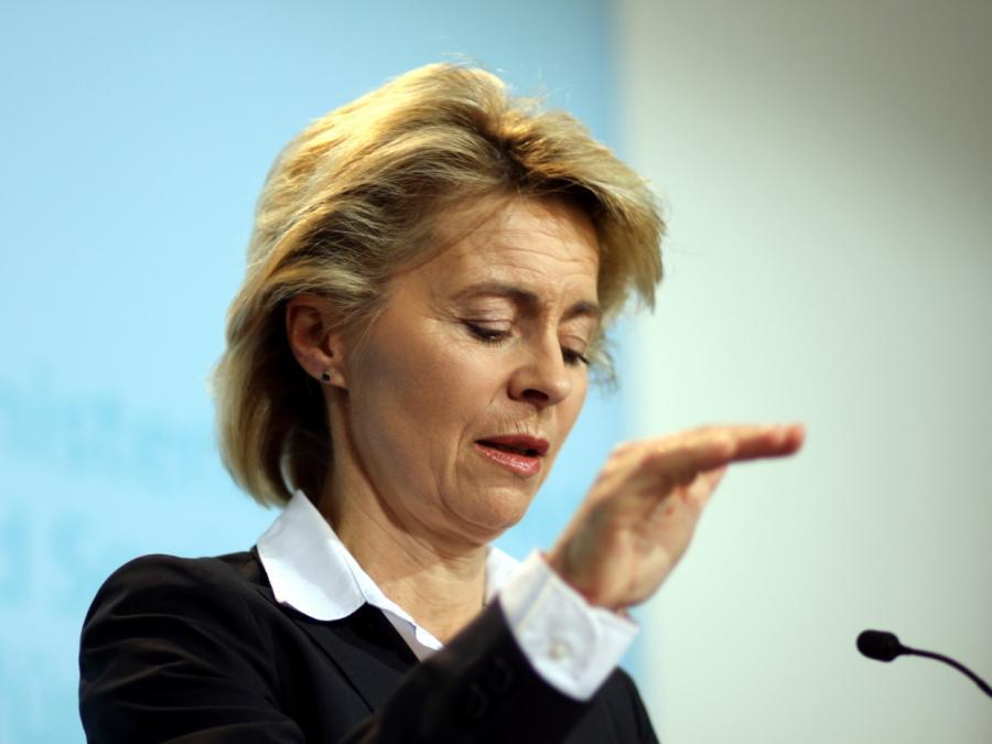 Von der Leyen und Günther kritisieren CSU